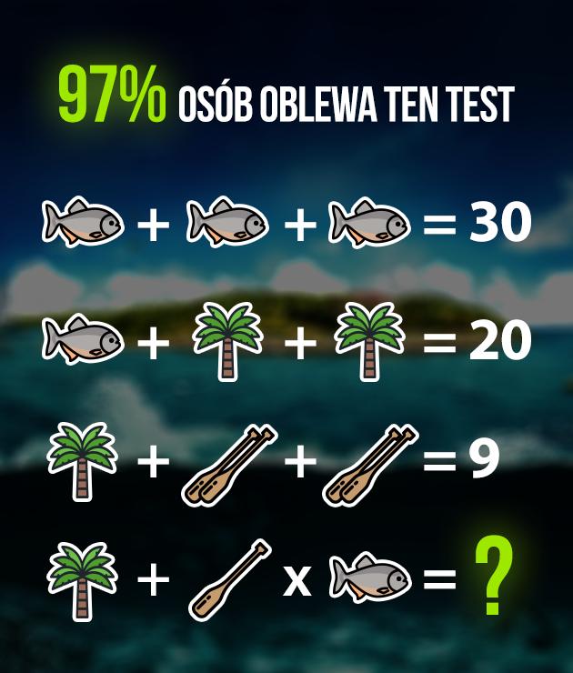 97% der Menschen besteht diese Prüfung nicht