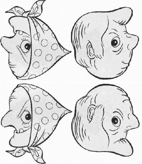 2 oder 4 Gesichte?