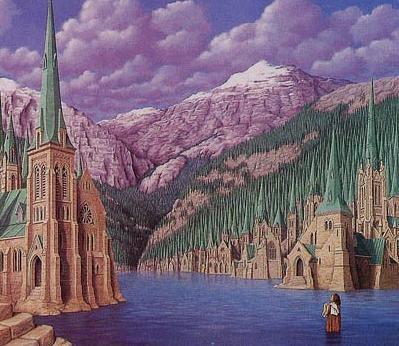 Katheder oder Kiefer in Gebirge?