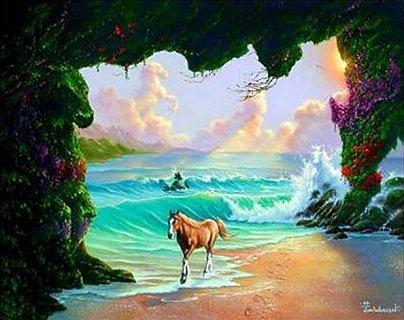 Wie viele Pferde siehst du?